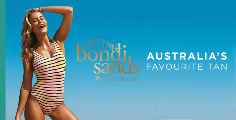 Bondi Sands spray tanning